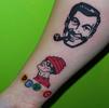 Christy DEVO Tattoo