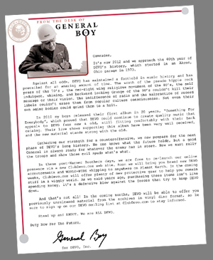 General Boy Letter March 2012