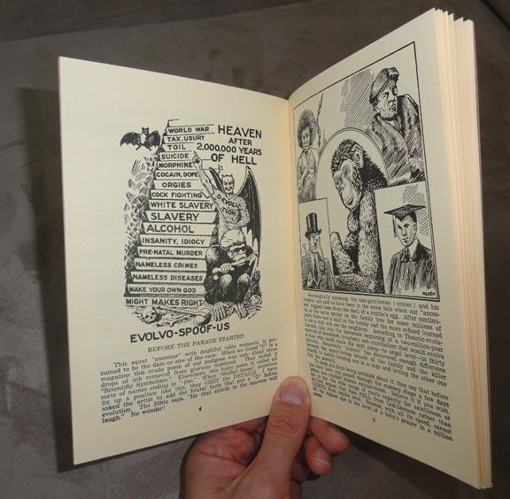 Jocko Homo Heaven Bound Religious Pamphlet Reprint