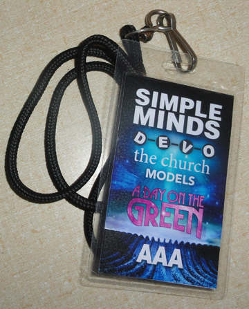 DEVO/Simple Minds All Access Pass 2012